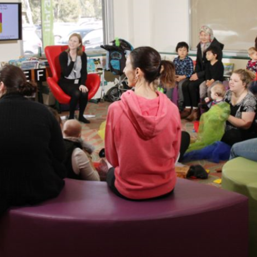 Rhyme & Story Time at Shepparton Library