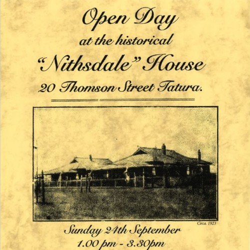 """Open Day at historical """"Nithsdale House"""""""