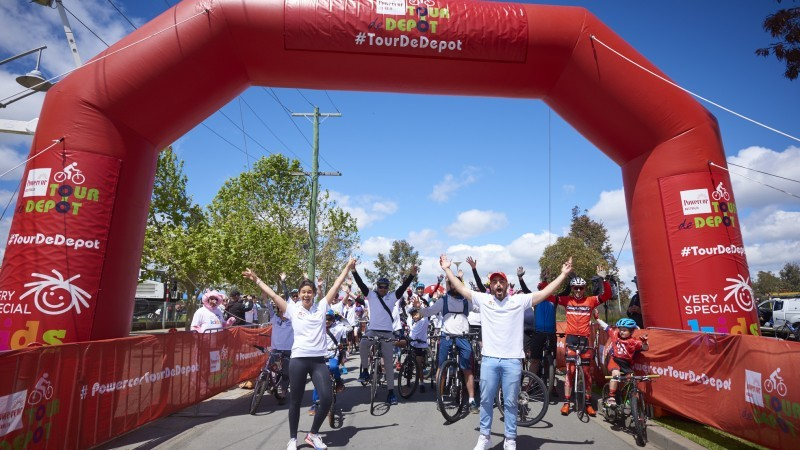 Powercor Tour de Depot - Cycling Event