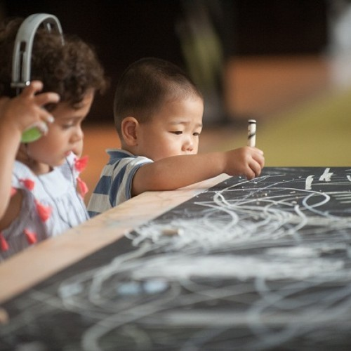 Sound of Drawing: Sound Art Experience for Children