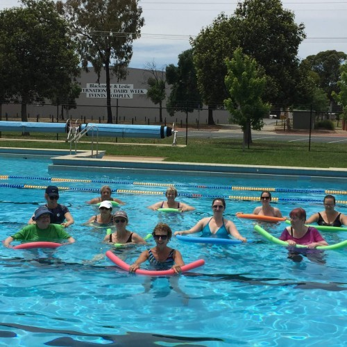 Come and Try Water Aerobics