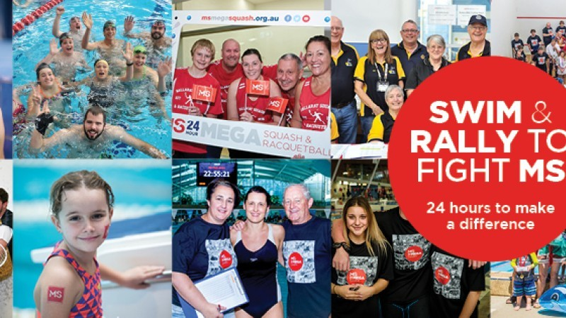 MS 24 Hour Mega Swim Shepparton