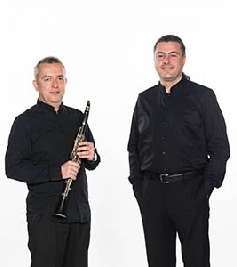 "Concerts in the Chapel presents ""A Kaleidoscope of Piano and Clarinet"""