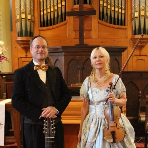 Concerts in the Chapel presents Matthew Fagan and Romana Geermans