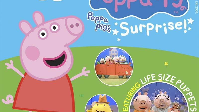 Fierylight & Andrew Kay Management present Peppa Pig's Surprise
