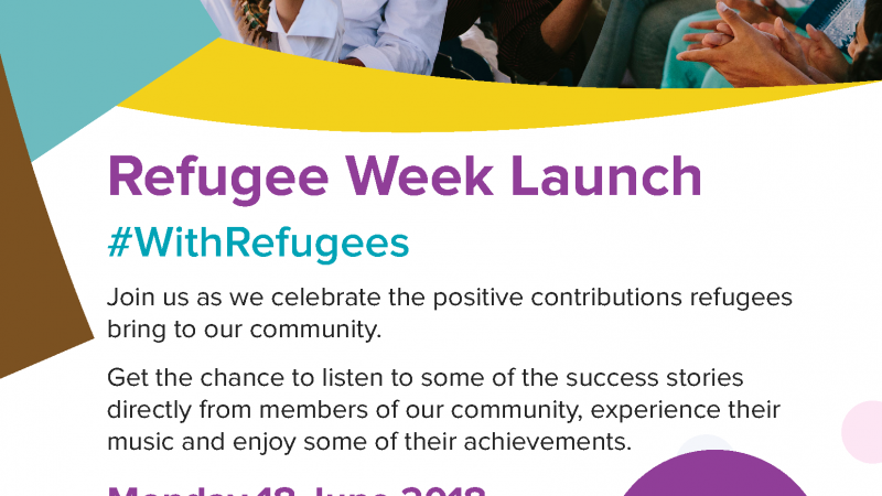Refugee Week Launch