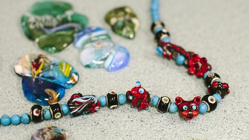 Beads of Culture Workshops at Kaiela Arts