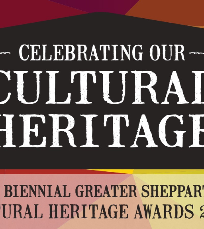Launch of the 2019 Greater Shepparton Cultural Heritage Awards