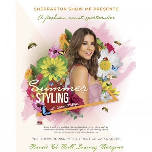 Shepparton Show Me presents Summer Styling with Lauren Phillips