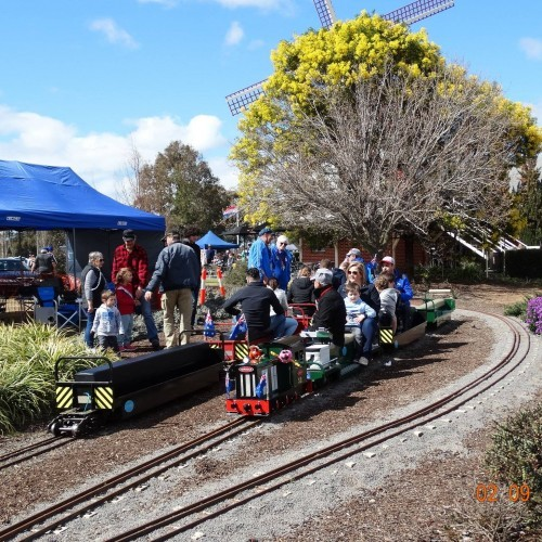 Miniature Train Rides at Emerald Bank Leisure Land