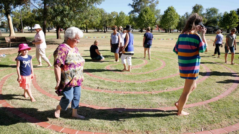 RESCHEDULED - Labyrinth Walk