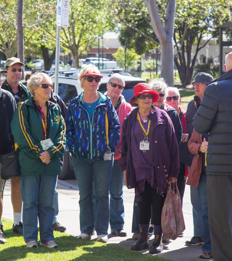 Shepparton's Guided Art and History Walk