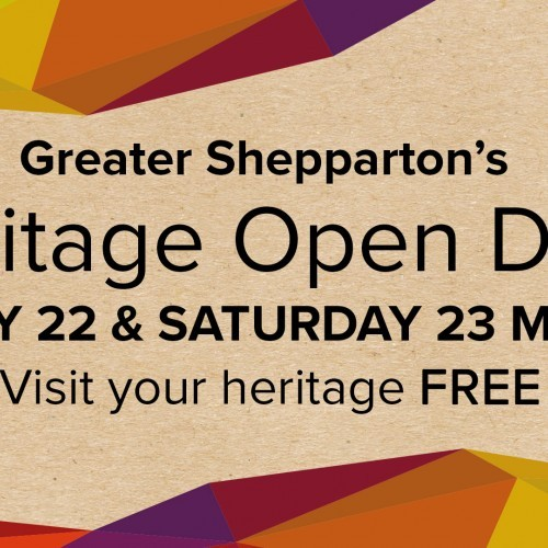 Greater Shepparton Heritage Open Days 2019