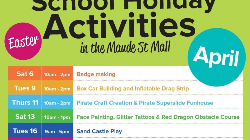CBD Fun Easter School Holidays