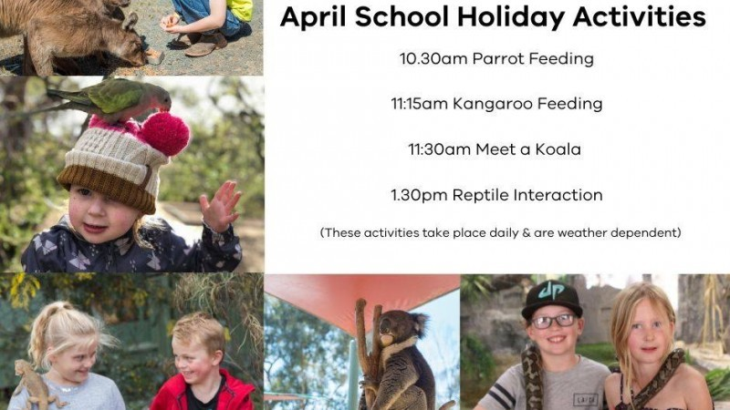 Kyabram Fauna Park School Holiday Activities