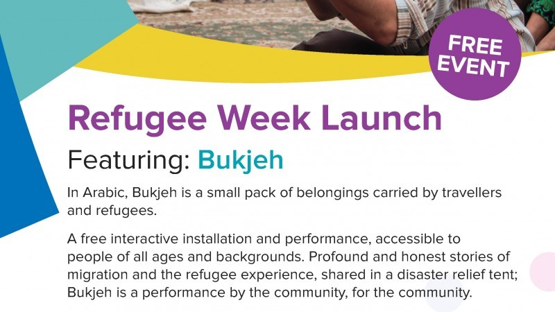 Refugee Week Launch featuring BUKJEH