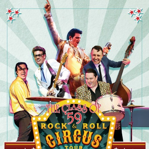 Happy Days Records presents Class of 59 - The Rock N' Roll Circus Tour