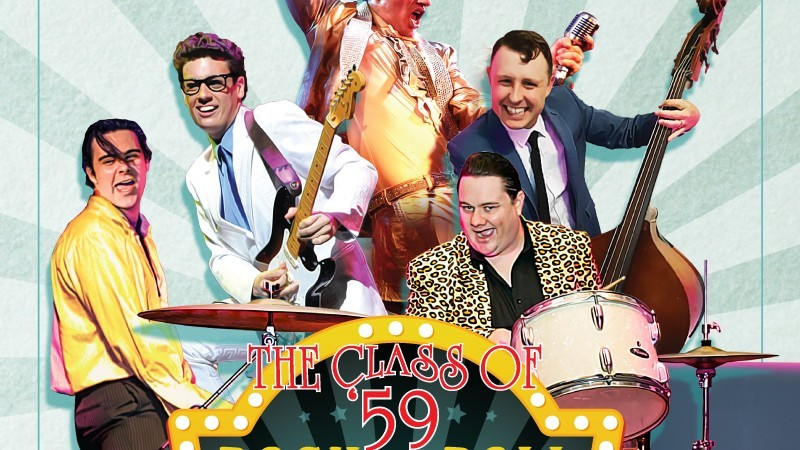 Happy Days Records presents The Class of 59 - The Rock N' Roll Circus Tour