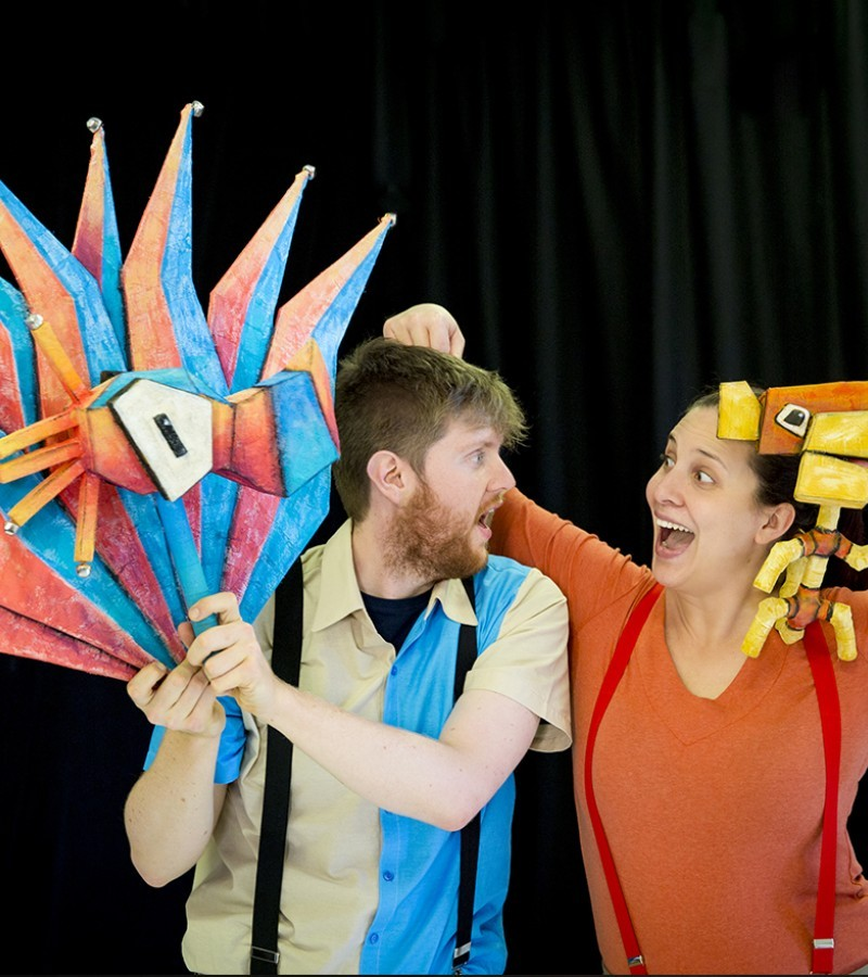 Riverlinks and Spare Parts Puppet Theatre present Roald Dahl's The Twits