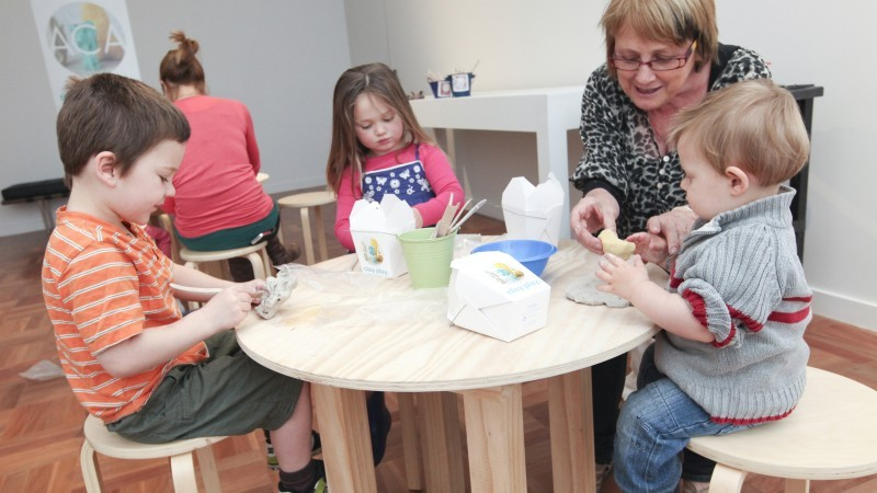 SAM Monthly Makers: Clay Houses