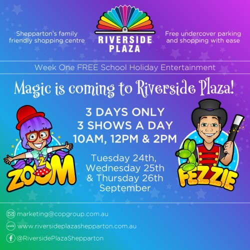 Magic at Riverside Plaza