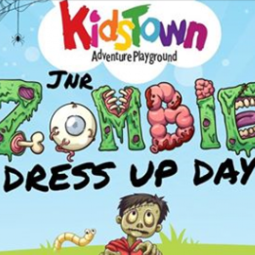 Jnr Zombie Dress Up Day at Kidstown