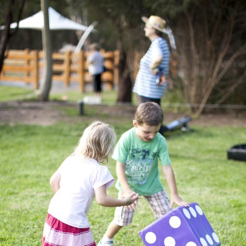 Shepparton East Primary School Movie Night - Giant Games