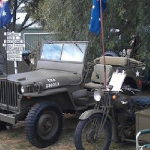 Dookie Military Vehicle Rally