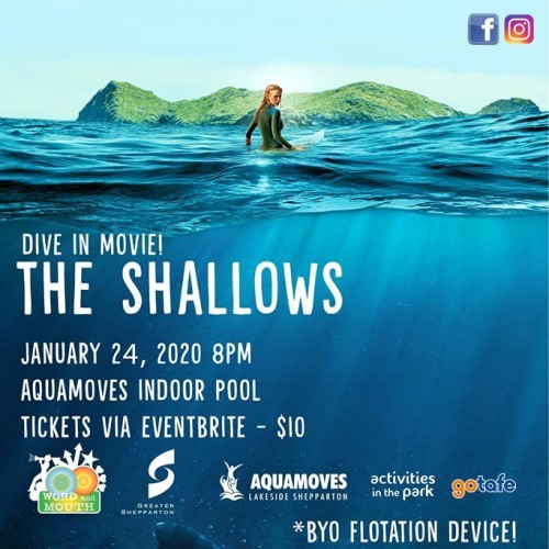 Dive in Movie - The Shallows