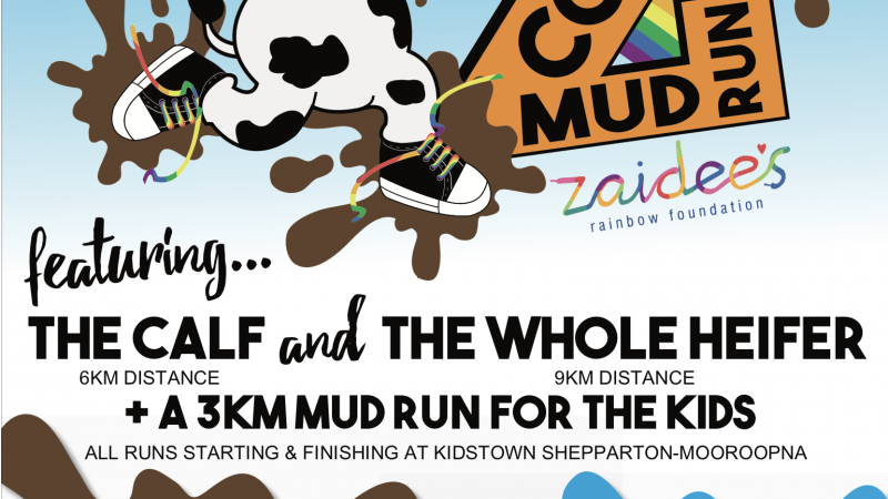 Zaidee's Mad Cow Mud Run