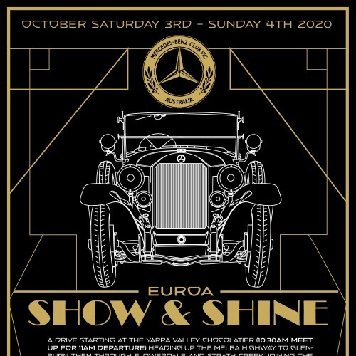 Mercedes Benz Club Victoria - Drive to Euroa Show and Shine