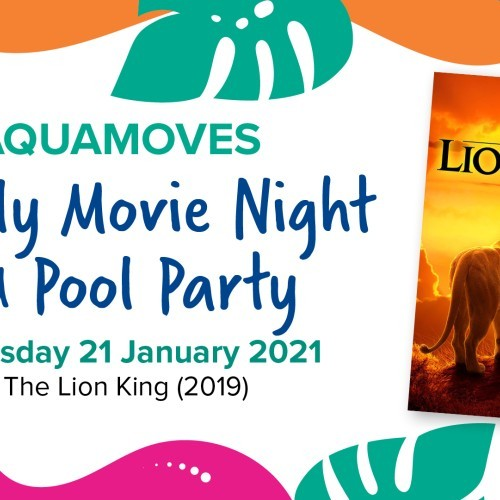 Aquamoves Family Movie Night and Pool Party