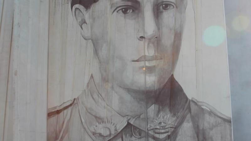 Aboriginal Street Art Project - Private Daniel Cooper Mural