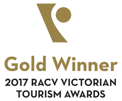 Gold Winner - 2017 RACV Victorian Tourism Awards