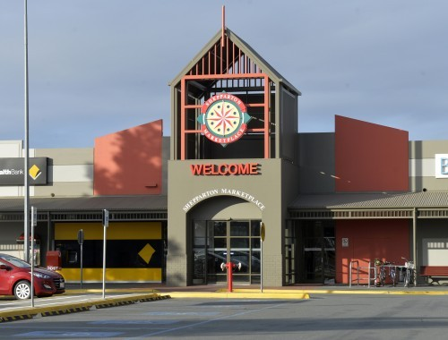Shepparton Marketplace Western Entry update image for VS wsite listing June 20